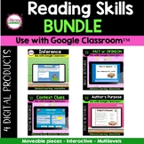 Google Classroom READING SKILLS Bundle