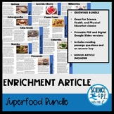 Superfood Articles: Growing Bundle (PDF and Google Slides)