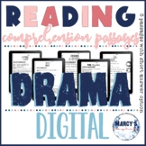 Digital reader's theater scripts- DRAMA Reading Comprehension 4th & 5th grade