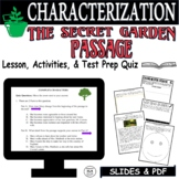 Distance Learning Reading Comprehension Passage Questions The Secret Garden