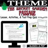 Distance Learning Reading Comprehension Passage and Questions The Secret Garden