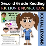 Distance Learning Reading Literature 2nd Grade Bundle Goog