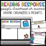 Distance Learning: Reading Response for Google Classroom o