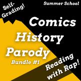 Fun Summer School Reading Activities Superhero Lesson Plans