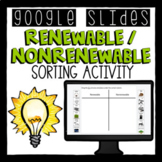 Distance Learning- Renewable and Nonrenewable Sorting Goog