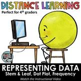 Distance Learning - Representing Data on Stem & Leaf, Dot