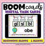 L Blends Easter Theme | DIGITAL Boom Cards