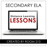 Distance Learning Resources for Secondary ELA