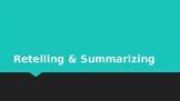 Distance Learning Retelling & Summarizing PowerPoint Presentation