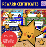 Distance Learning Certificates - Reward and Merit