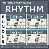 Distance Learning Rhythm Games: Interactive Music Games Bundle {Ice Cream}
