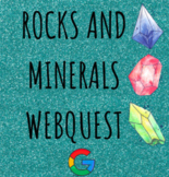 Distance Learning Rocks and Minerals Google Forms Webquest
