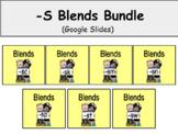 Distance Learning -S Blends Bundle (Google Slides)