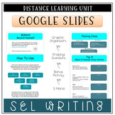 Distance Learning SEL Writing Activity