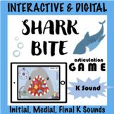 Distance Learning SHARK BITE Digital Interactive Tele Speech Game K Sounds