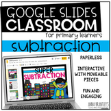 Distance Learning SUPER Subtraction- A Digital Resource