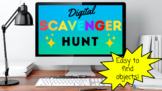 Distance Learning Scavenger Hunt Game End of Year Activity