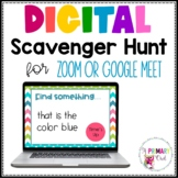 Distance Learning: Scavenger Hunt for Zoom or Google Meet