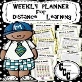 Distance Learning Schedule (Coronavirus Packet)