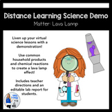 Distance Learning Science Demo: Lava Lamp