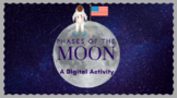 Distance Learning Science Moon Phases Google Slides EDITABLE Errorless Learning