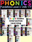 Distance Learning Second Grade Phonics Google Slides Digital Resources Bundle