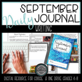 Distance Learning September Daily Writing Prompts