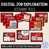 Digital Job Exploration: Restaurant Interactive Vocational