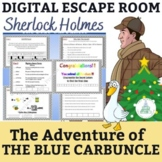 Distance Learning Sherlock Holmes The Blue Carbuncle - Dig