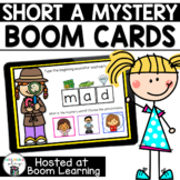 Distance Learning- Short A (CVC) Mystery Word Boom Cards B