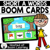 Distance Learning- Short A (CVC) Picture Match Boom Cards