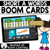 Distance Learning- Short A (CVC) Word Reading Boom Cards B
