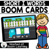 Distance Learning- Short I (CVC) Word Reading Boom Cards B