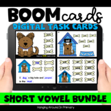 Distance Learning | Short Vowel Word Families | Boom Cards