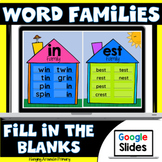 Word Families Posters for Short Vowels | Google Slides
