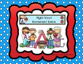 Distance Learning Sight Word Movement Game (PAF Sequence)