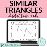 Similar Triangles Digital Task Cards