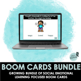 Distance Learning | Social Emotional Learning Boom Cards Bundle