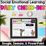 Social Emotional Learning Daily Check-Ins - DIGITAL