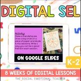 Distance Learning Social Emotional Learning Google Slides for K-2