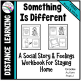 Distance Learning Social Story for Staying Home