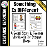 Social Story for Staying Home - Distance Learning
