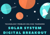 Distance Learning Solar System Digital Breakout Escape Room