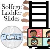 Distance Learning Solfege Ladder Slides