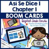 Spanish Characteristics Boom Cards | Así Se Dice 1 Chapter