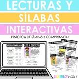 Distance Learning - Spanish Lecturitas Interactivas con Pr