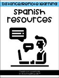 Distance Learning Spanish Websites and Tools