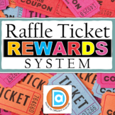 Distance Learning Special Education Raffle Ticket Reward C