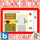 Distance Learning Speech Therapy 3 Boom Cards sets Followi