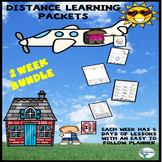 Distance Learning Spiral Review Packets 2 Weeks